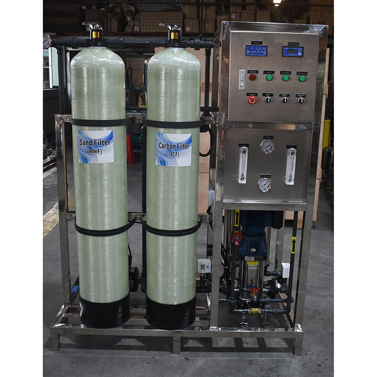 500LPH drinking water treatment machine water purifying plant