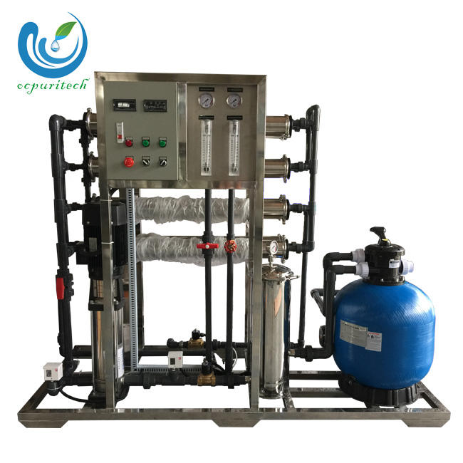 2TPHRO System water purification plant make drinking water