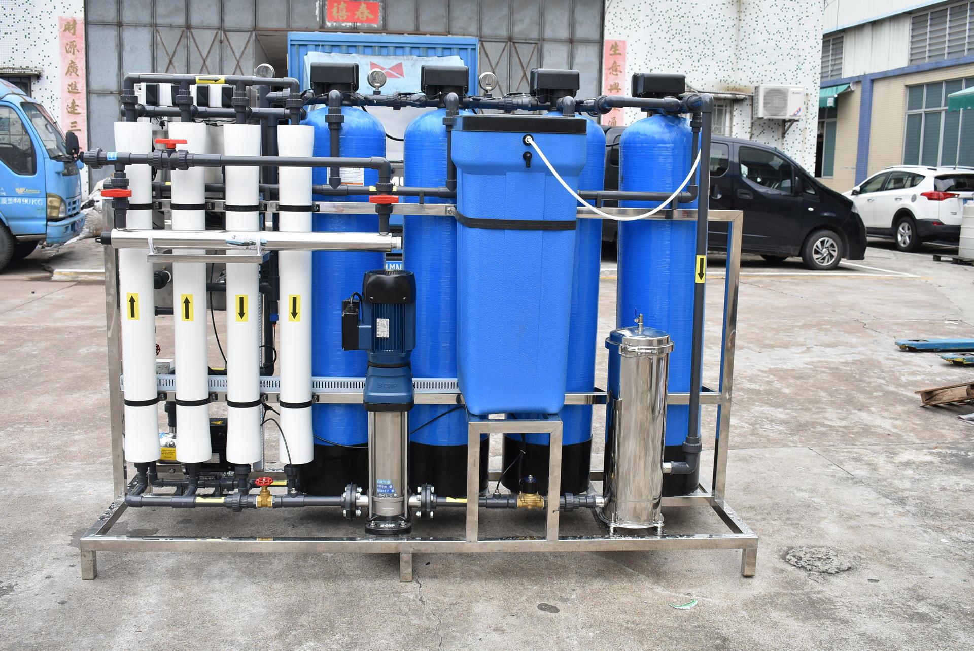 1000 liter per hour Reverse osmosis Filtro de agua para agua potable
