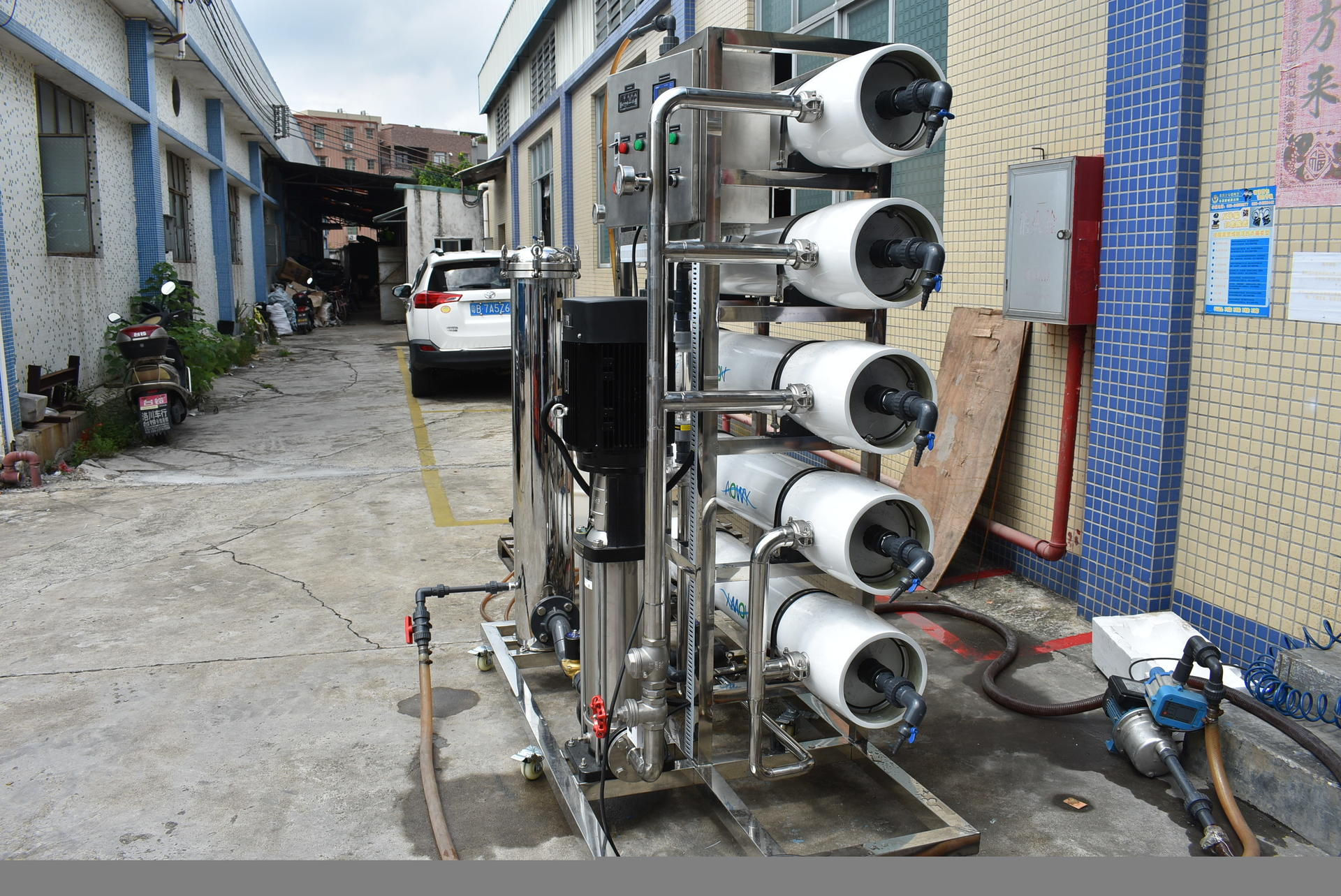 5000 liter per hour reverse osmosis (RO) plant