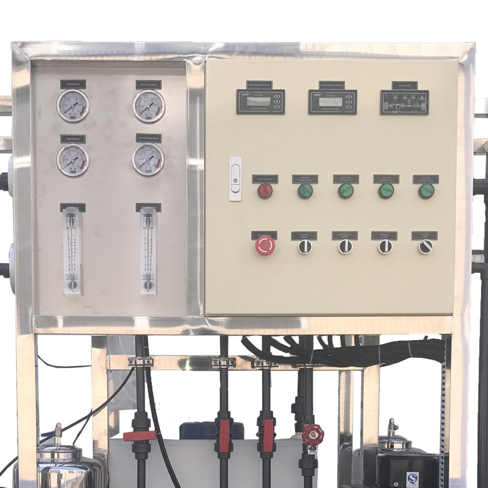 500L/H RO Pure Water Plant Filling Machine For Beverage / Juice / Mineral Water