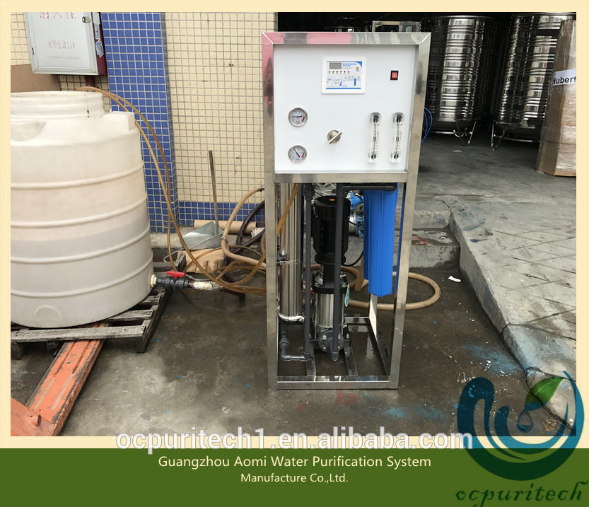 500lph reverse osmosis system water plant ro purifier
