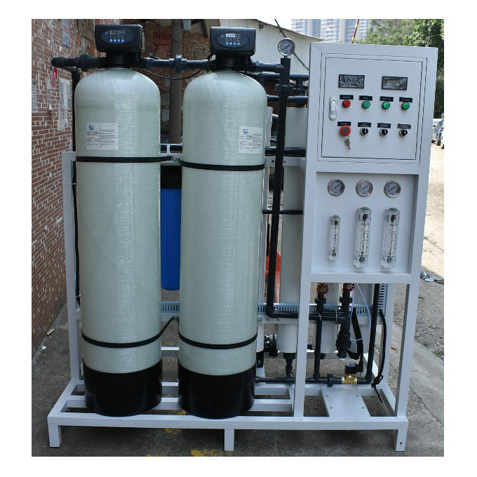 Industrial ro plant 1000 LPH water purifier machine ro treatment plant for factory