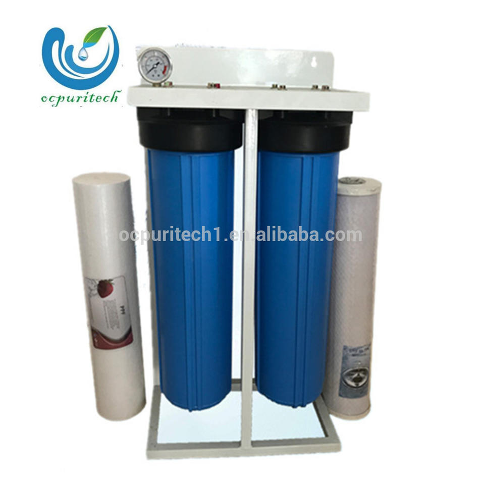 2stages Competitive price PP+UDF RO water purifier for commercial use