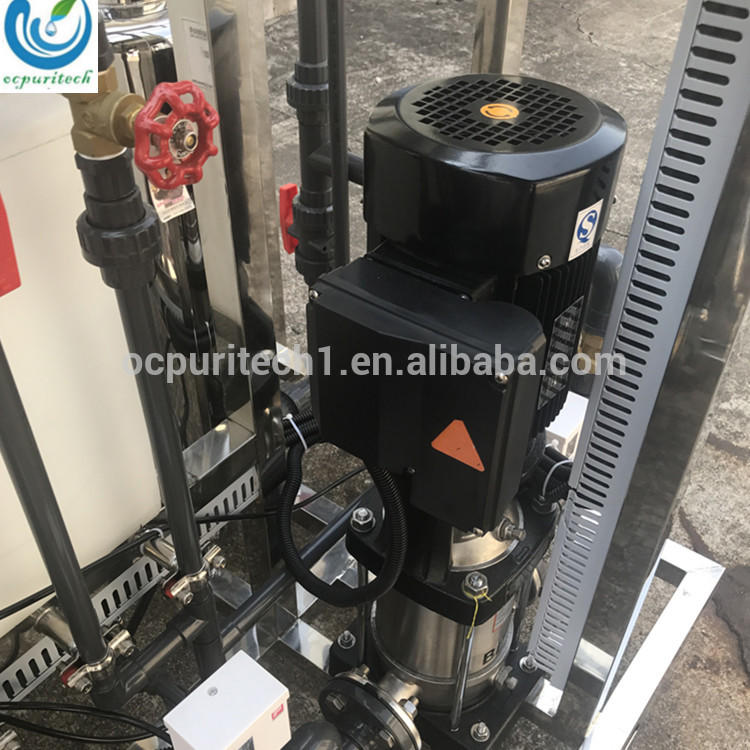Pure water machine for sale/RO 500L/H reverse osmosis water treatment system