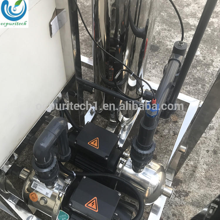 Nigeria Water filter machine price 5L/H Reverse Osmosis Machine water desalination machines