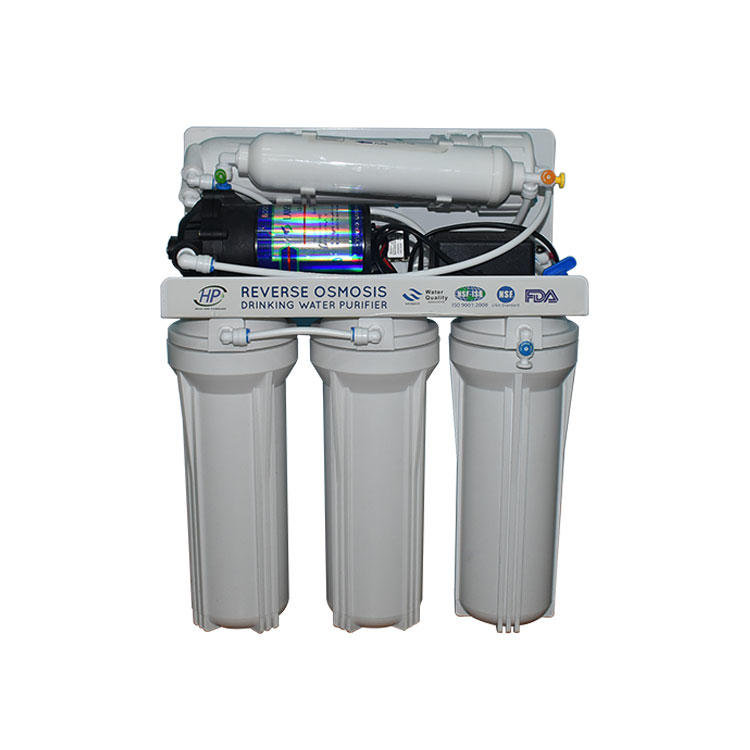 House water treatment 75 GPD ro filter reverse osmosis water filter for home