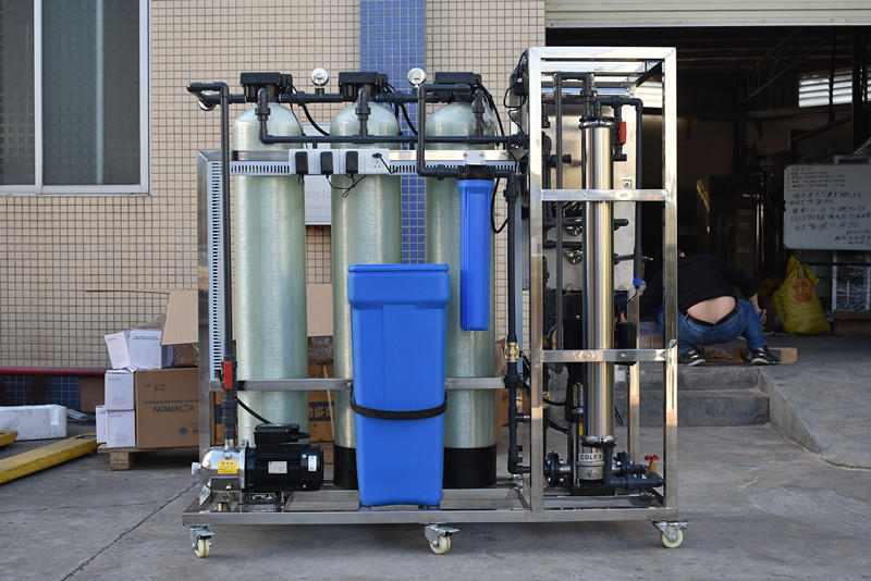 Water treatment plant dialysis for rain water with pretreatment system