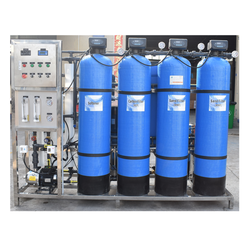 1000 LPH Reverse Osmosis Water Purifier Machine For Plant