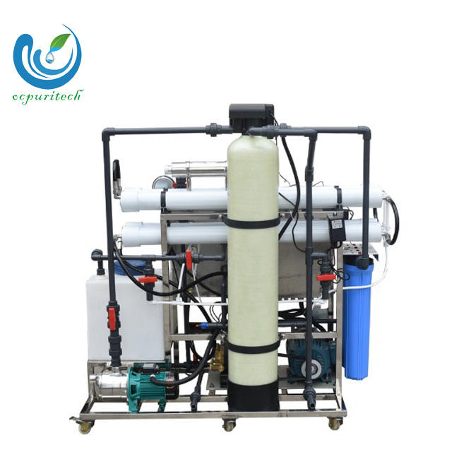 200 lph Small capacity seawater desalination plant water treatment equipment