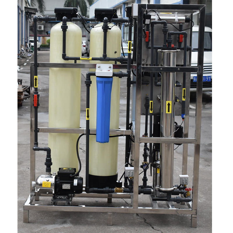 Small capacity 250 LPHreserve osmosis compact ro water treatment for hemodialysis