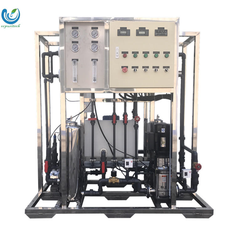 Mineral water plant Water Purification System 500L/H Pure Water Purifier RO Machine in Nigeria