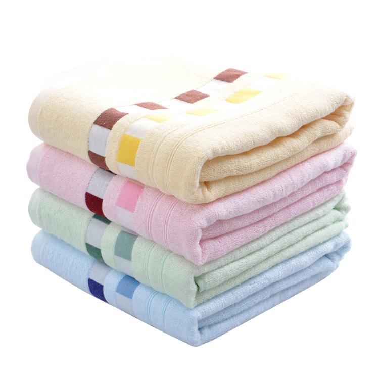 Customized soft 100% Bamboo Fiber bath towel