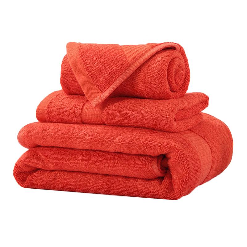 Wholesale custom high quality baby bamboo bath towel set