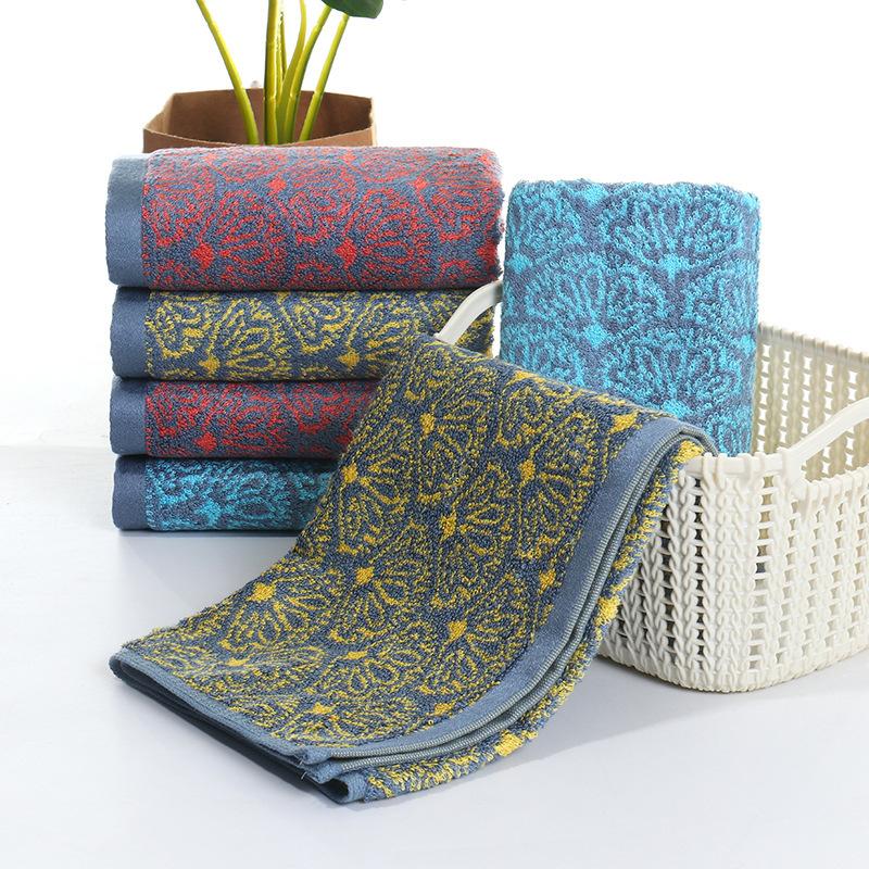 Custom Bamboo jacquard Face TowelSets