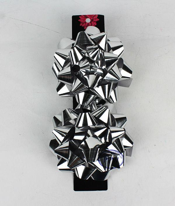 Iridescent various Shiny christmas gift bows gift wrapping bows