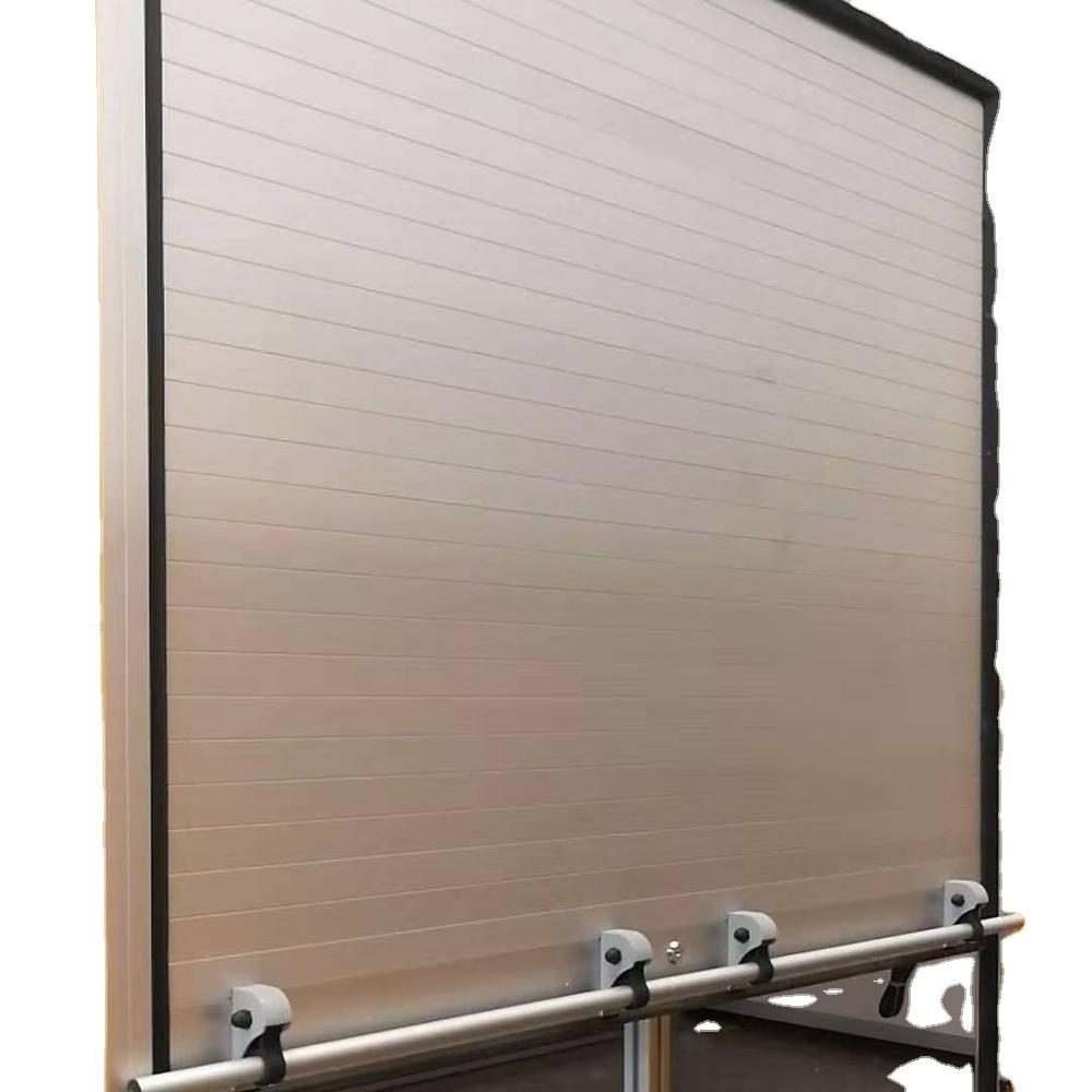 Heavy duty roller shutter doors aluminum roll up door for truck