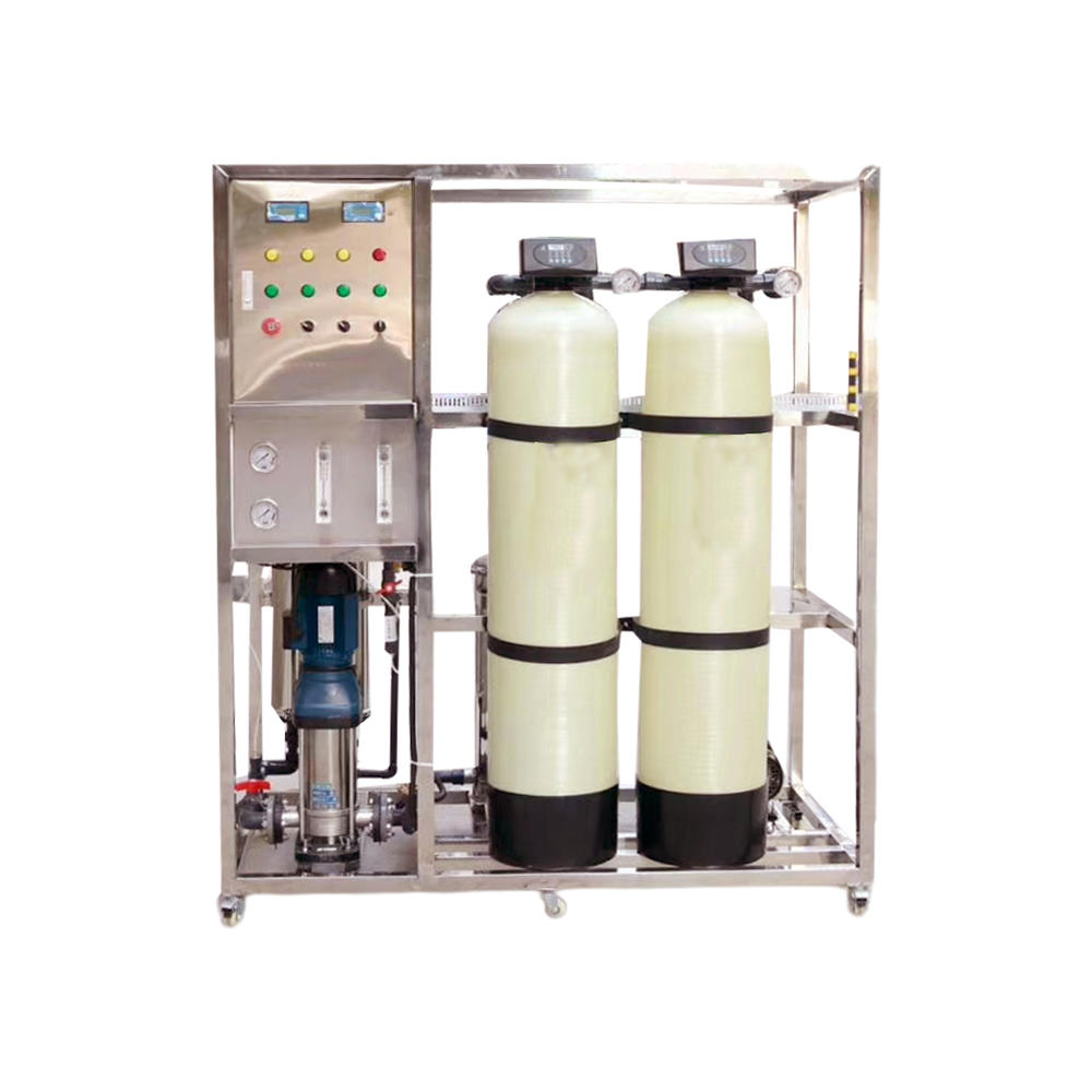 Small 500L Per Hour Water Softener Domestic Treatment Plant, RO Filter Water Resin Filter Purified System