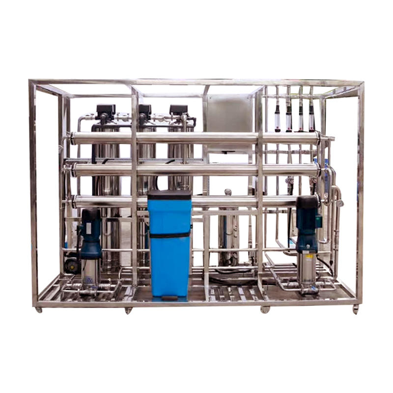 Industrial Reverse Osmosis System Underground Water Softener Industrial Filter Treatment Water Tank UF Filtration Plant