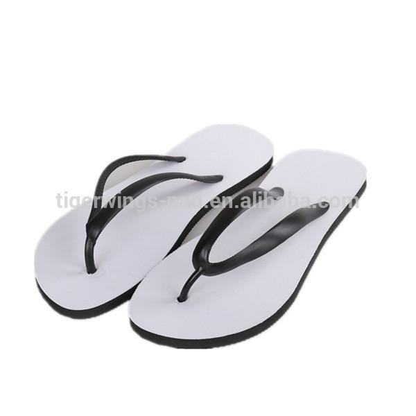 High quality beautiful summer beach PVC rubber flip flops for women