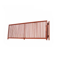 Custom Anodized Balcony Garden Cast aluminum fence decoration