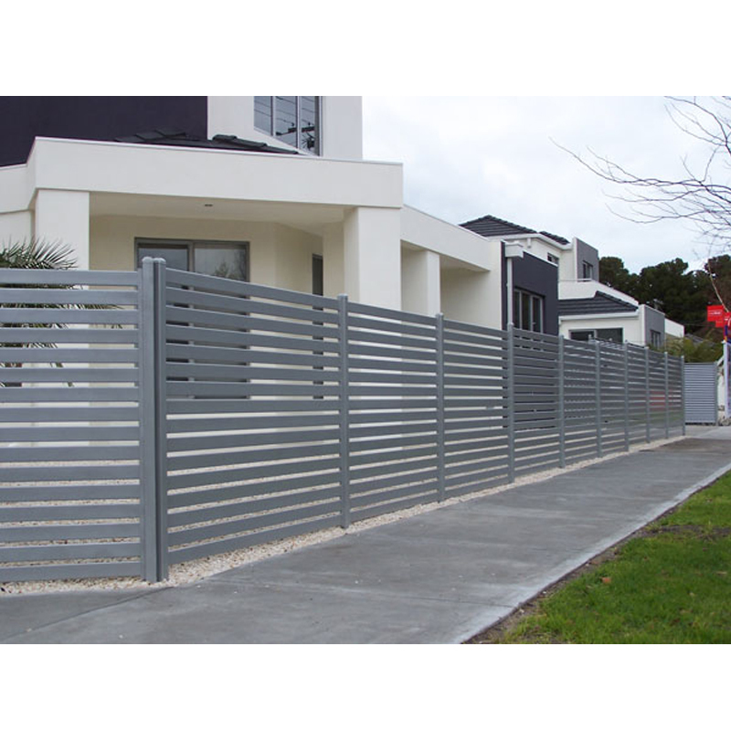 Hot sell aluminum fence slat panel for garden