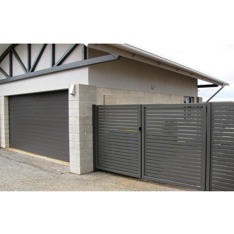 Aluminium picket fence panels /Aluminium slat fence panels