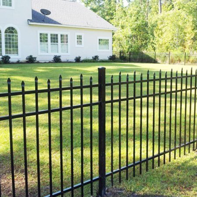 Decorating and Safe Aluminum Alloy Glass Fence