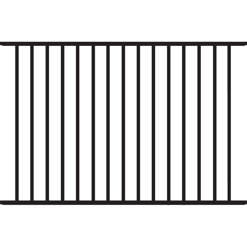 Fence panel aluminium extrusion profile for swimming pool