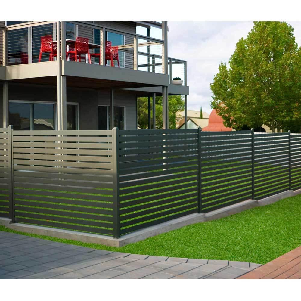 Top level competitive aluminiumgarden slat fence profile