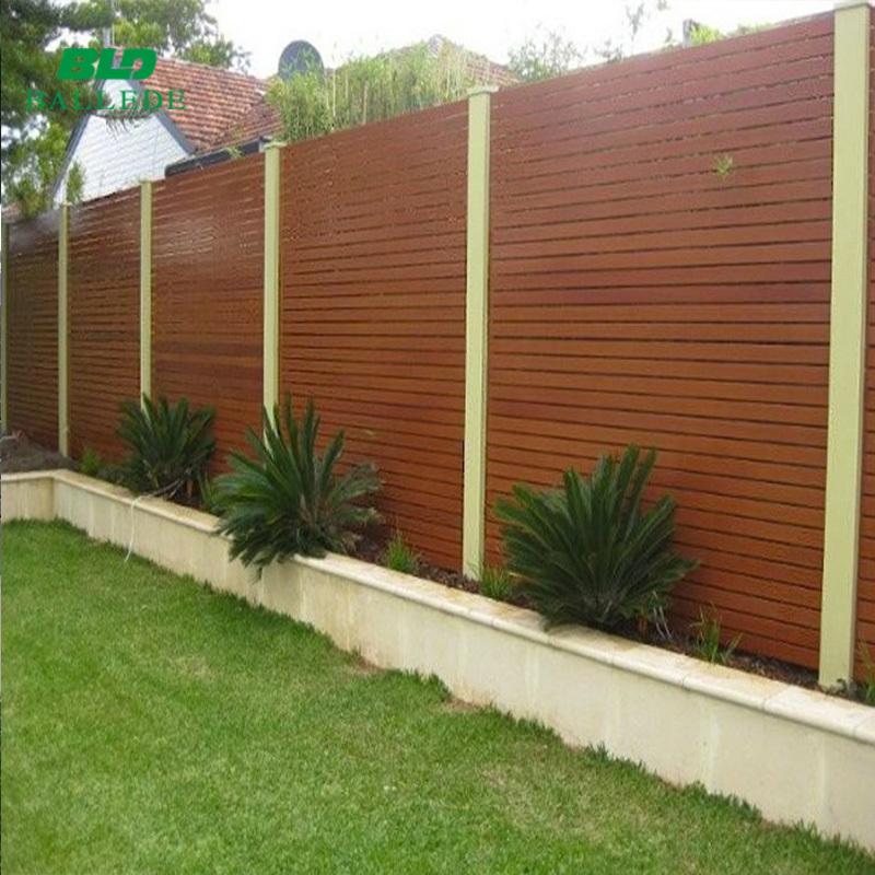 Horizontal 65*16 mm slat fencing for melbourne