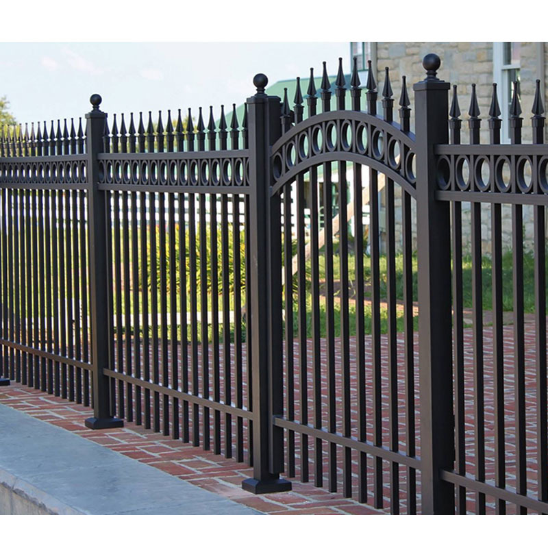 2019 Well done aluminum fencing solid aluminum garden fence