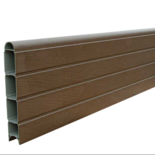 Aluminium fence slats profilefor garden post
