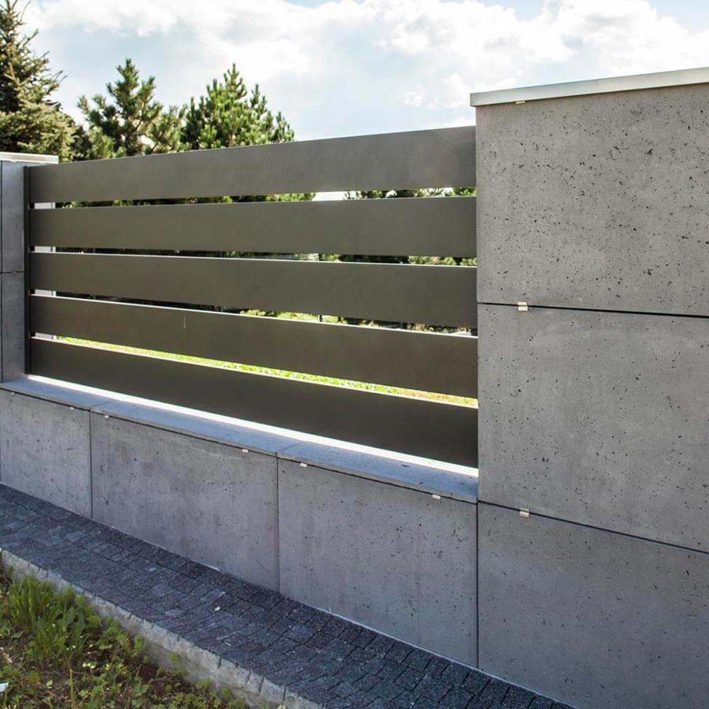 Common aluminum pool privacy decorative fence screen