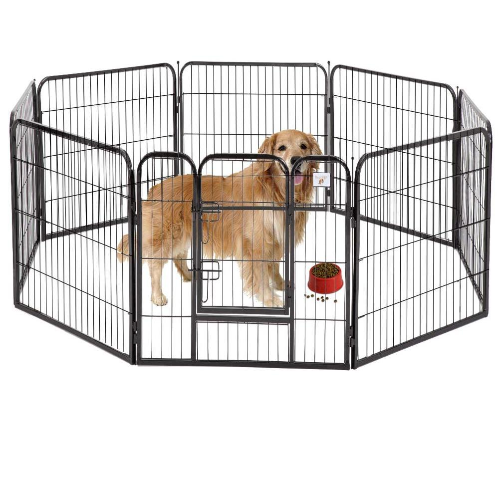 Chain Link Fence Aluminum Fences for Large Barrier Metal Dog Pen