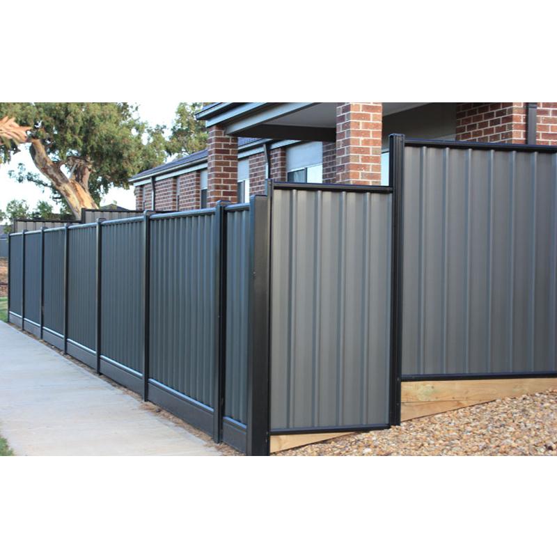 Extruded powder coating greyaluminum slats for fence panel