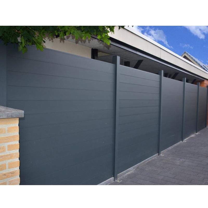 Aluminium privacy fence panels aluminum bronze metal fencing