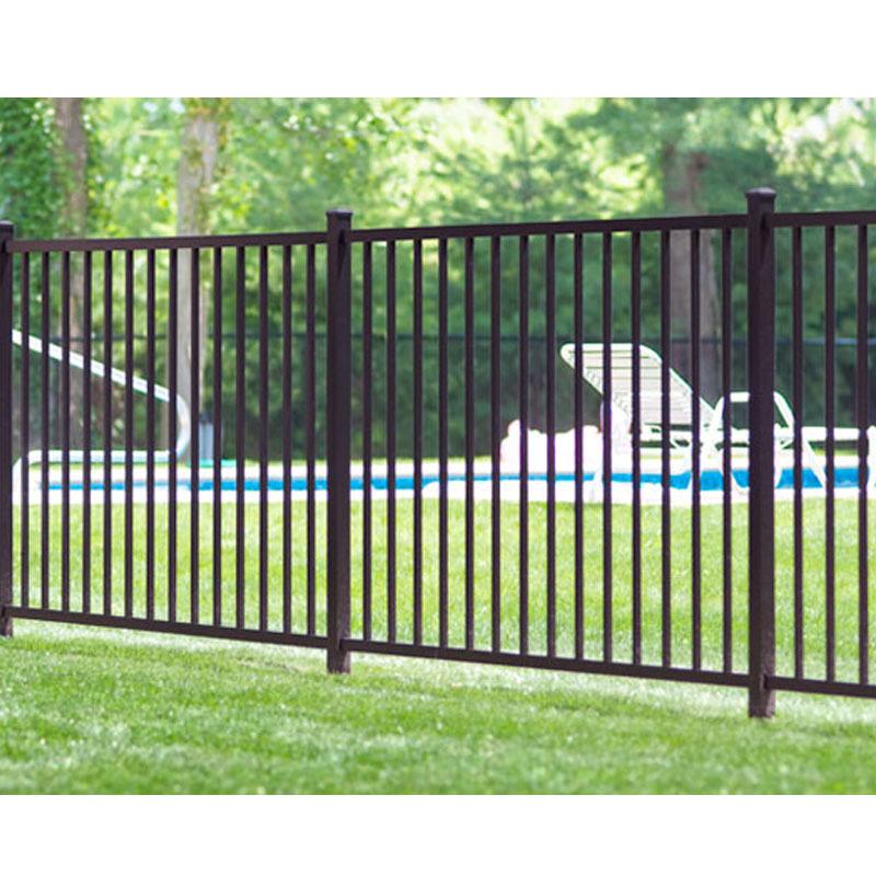 New design horizontal aluminum fence slat fencing decorative fence