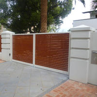 HOT Sale moderate price aluminum alloy fence for garden