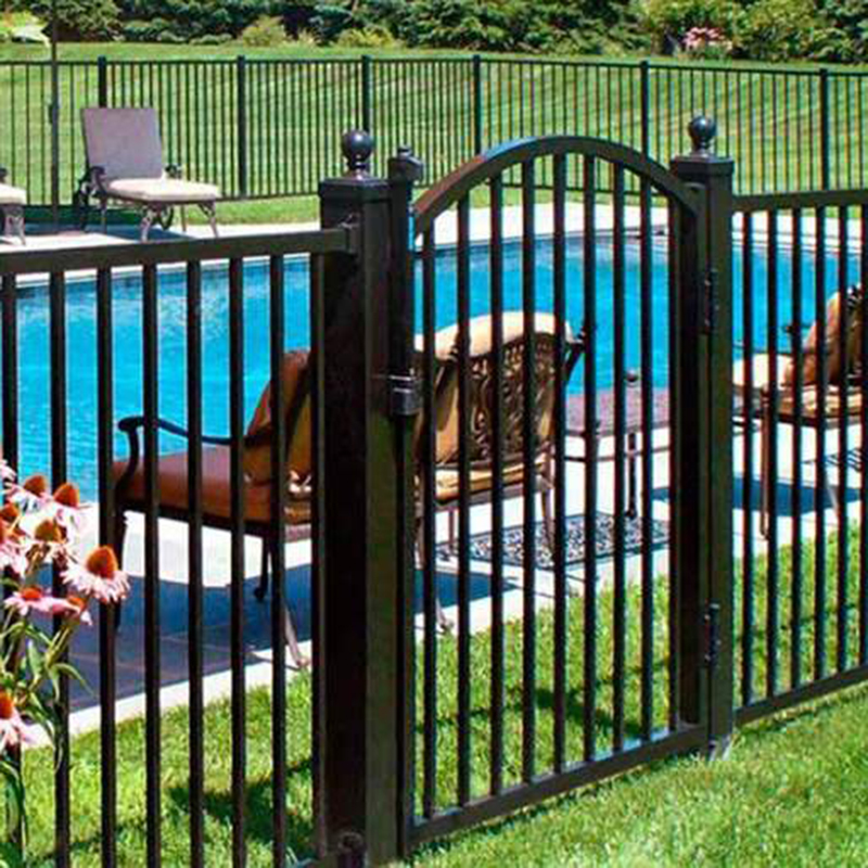 Aluminum artificial Chainlink fence For Garden ,Swimming Pool