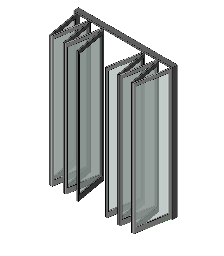 Indoor-Outdoor LivingAluminum Bi-Fold Glass Walls Aluminium Extrusion Profile Frame