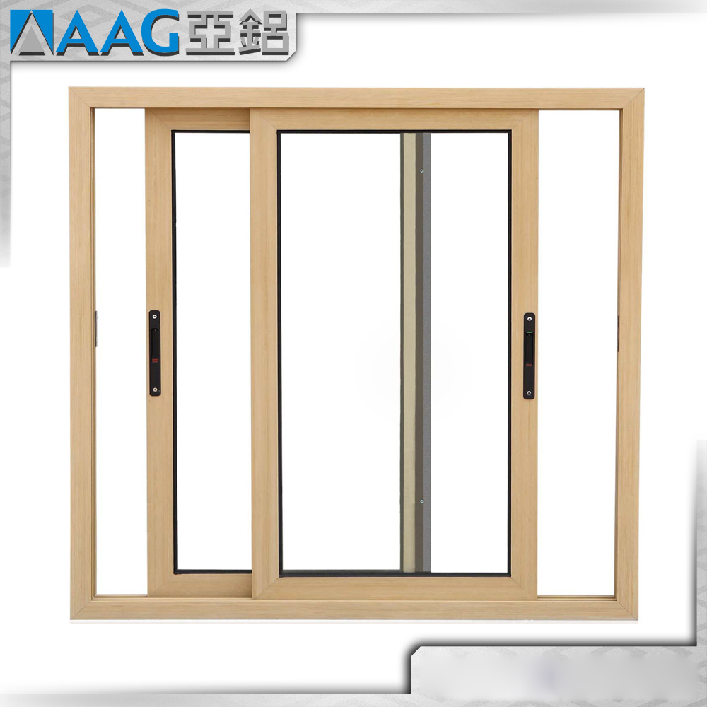 Large Aluminum Framed Two Track Sliding Window With High Quality
