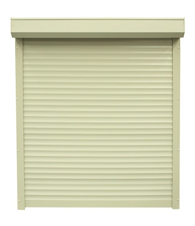 White color safety design aluminum roller shutter for exterior