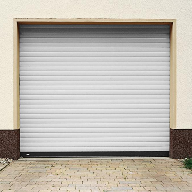 High quality exterior remote control aluminum garage rolling up door