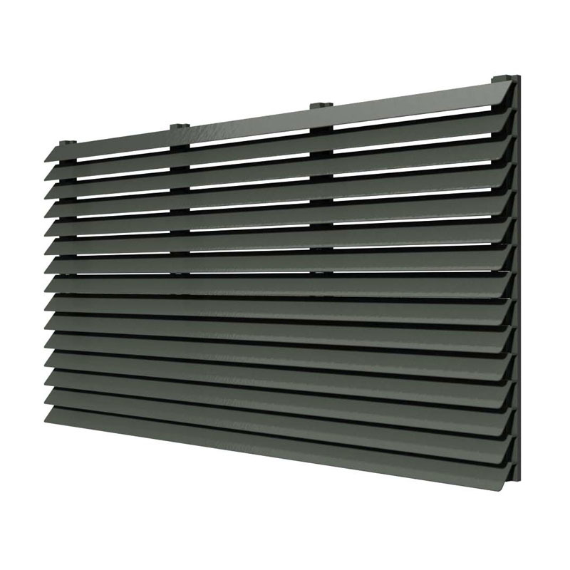 High demands OEM aluminum Sun Louver Decoration vertical aluminum louvers