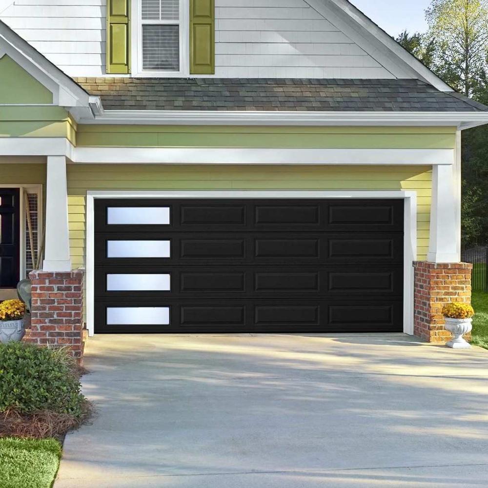 Customizedaluminum panel storm-proofgarage door
