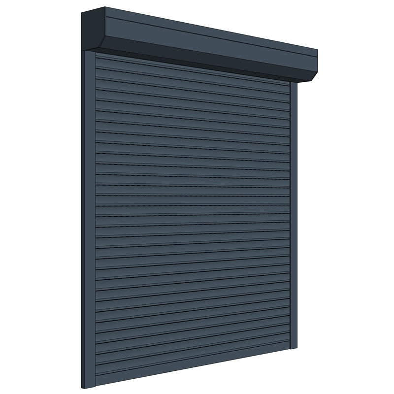Automatic rolling shutter window aluminum roller shutters