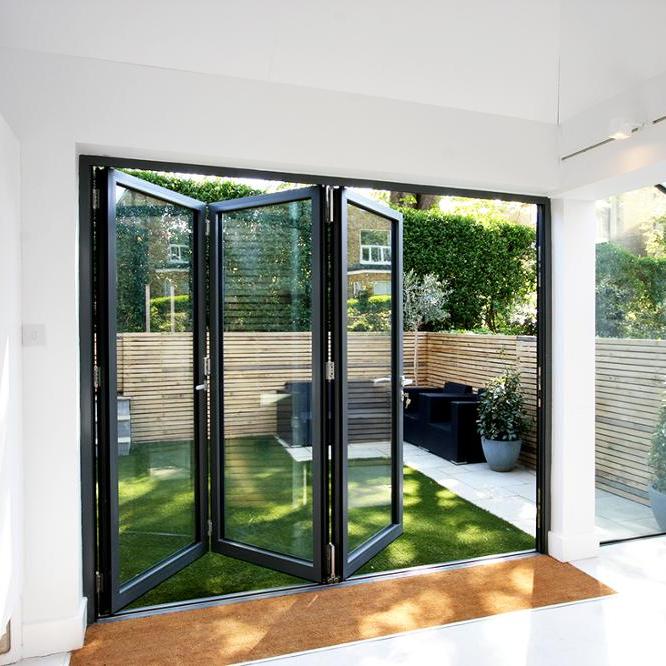 Main gate designs aluminum folding bifold door