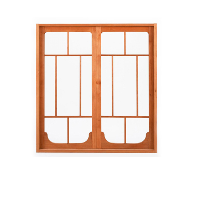 Swing Open Inside Hinges Aluminium Window With Decoration Grills