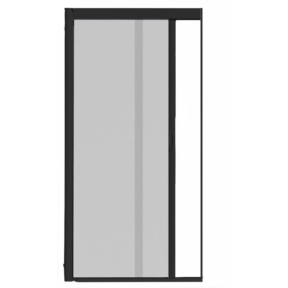 Powder coatedaluminum security sliding door